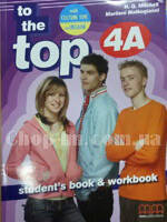 To the Top 4A Student's Book + Workbook with CD-ROM with Culture Time for Ukraine