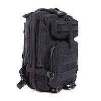 Рюкзак військовий тактичний штурмової з USB Molle Assault 36L Black