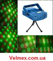Зелено Красные мультифейерверки