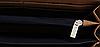 Кошелек мужской на молнии черный, фото 4