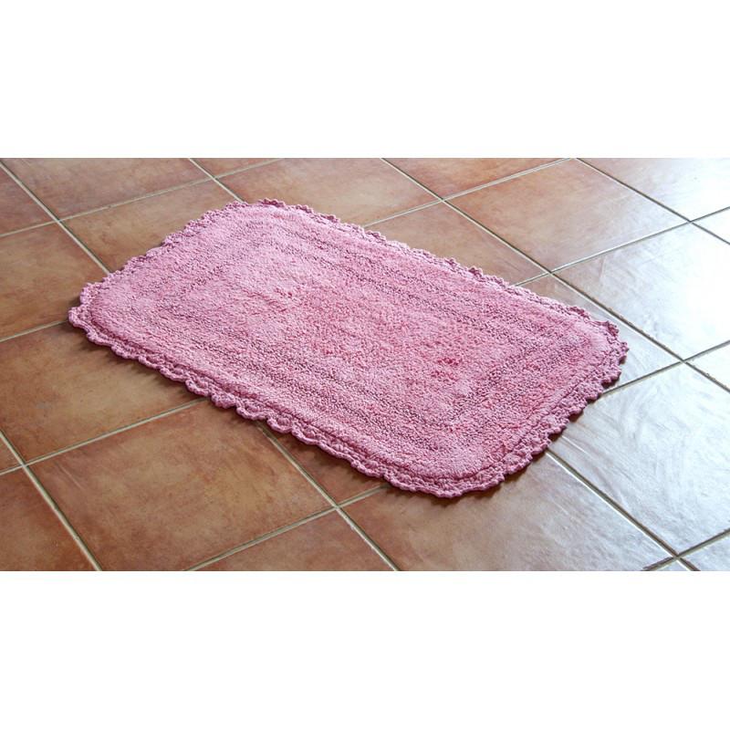 Коврик Irya - Sahra pembe розовый 70*120 см