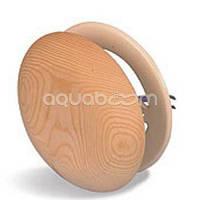 Вентиляционная заглушка Грибок (липа, d=100 мм)