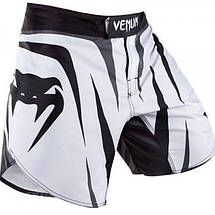 Шорты Venum Sharp fightshorts - Ice/Black, фото 3