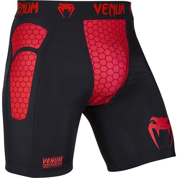 Компрессионные шорты Venum Absolute Compression Shorts Red Devil