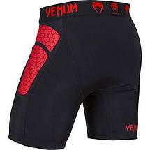 Компрессионные шорты Venum Absolute Compression Shorts Red Devil, фото 2