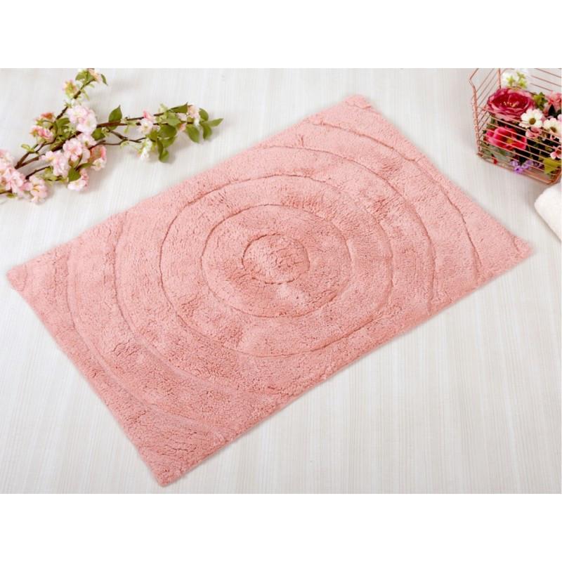 Коврик Irya - Waves pembe розовый  70*120 см