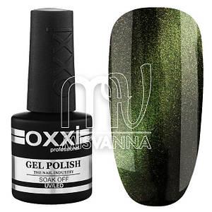 Гель-лак OXXI Professional Moonstone 10 мл №5, зеленый лунный камень