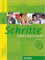 Schritte International 1 Kursbuch + Arbeitsbuch mit Audio-CD zum Arbeitsbuch und interaktiven Übungen