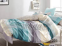 Комплект  постельного белья из сатина  вилюта  двуспальный 201