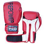 Боксерские перчатки Firepower FPBGA1 Красные, фото 4