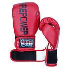 Боксерские перчатки Firepower FPBGA1 Красные, фото 5