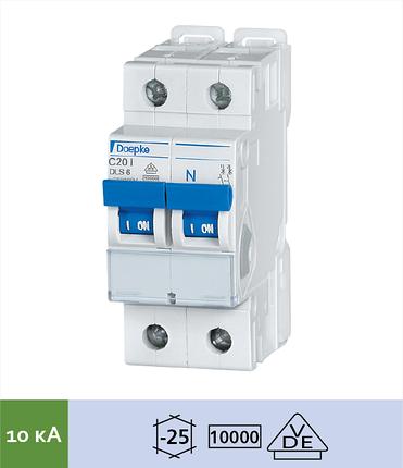 Автоматический выключатель Doepke DLS 6i C3-1+N (тип C, 1+Nпол., 3 А, 10 кА), dp09916225