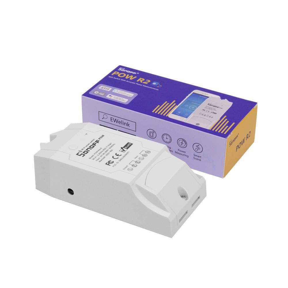 WiFi умный выключатель Sonoff Pow R2 (с энергомониторингом)