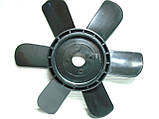 Крыльчатка вентилятора Москвич ИЖ АЗЛК 6 лопастная (на помпу), фото 2