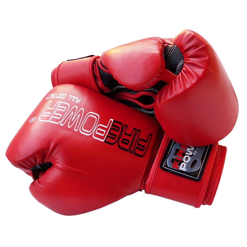 Боксерские перчатки Firepower FPBGA1 NEW Красные