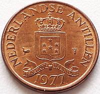 Нидерландские Антилы 1 цент 1977