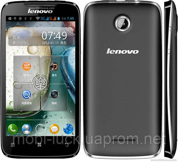 Lenovo A390, Android 4.1, 2 sim, 2 ядра,5 Мп,дисплей 4 дюйма.