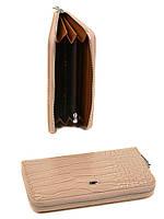 Женский кошелек из кожзама Rose-1 WD-1 beige