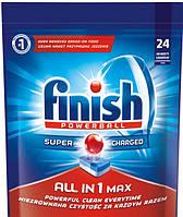 Таблетки для посудомоечных машин Finish Powerball all in 1 max (24 шт)