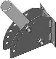 Кронштейн для светильника уличного освещения КБЛ-С-РУ (д. 50 мм., длина трубы 250 мм., угол регул.) Билмакс