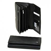 Женский кошелек из натур. кожи W0807 black, фото 1