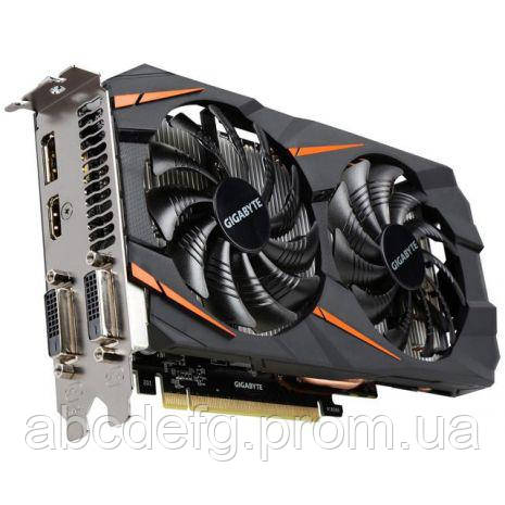 Видеокарта Gigabyte PCI-Ex GeForce GTX 1060 Windforce OC 3072MB GDDR5