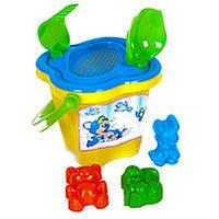Песочный набор, 7 предметов, пасочки, игрушки для песочницы