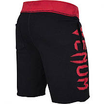 Шорти Venum Assault Training Shorts Black Red, фото 3