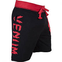 Шорти Venum Assault Training Shorts Black Red, фото 2