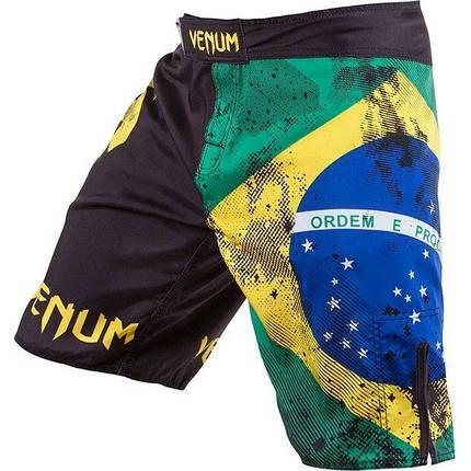 Шорты Venum Brazilian Flag Fightshorts - Black, фото 2