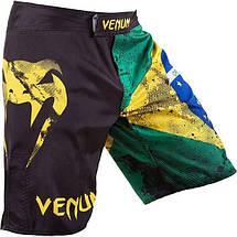 Шорты Venum Brazilian Flag Fightshorts - Black, фото 3