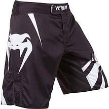 Шорты Venum Challenger Fightshorts - Black/Ice, фото 2