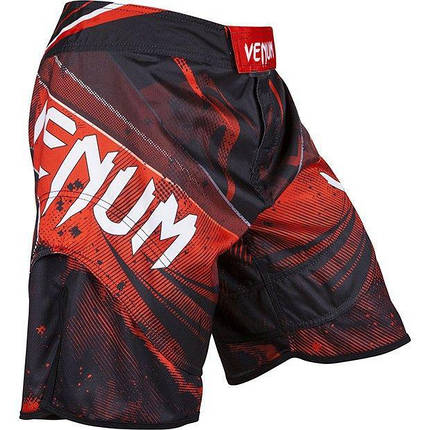 Шорты Venum Galactic Fightshorts Black Red, фото 2