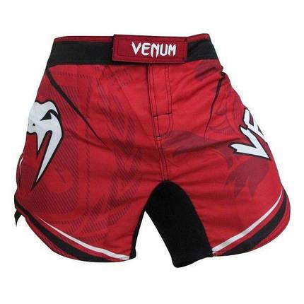 Шорти Venum Jose Aldo UFC 163 Ltd Edition Fightshorts - Red, фото 2