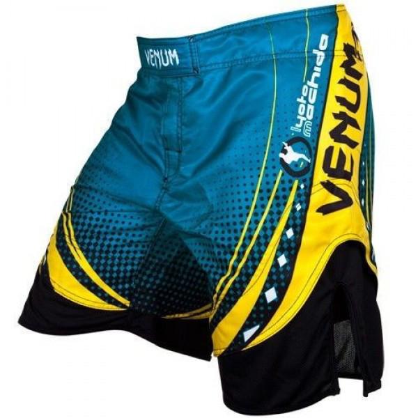 Шорты Venum Lyoto Machida UFC Edition Electron 3.0 Fightshorts- Blue