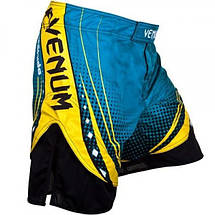 Шорты Venum Lyoto Machida UFC Edition Electron 3.0 Fightshorts- Blue, фото 3