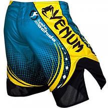 Шорты Venum Lyoto Machida UFC Edition Electron 3.0 Fightshorts- Blue, фото 2
