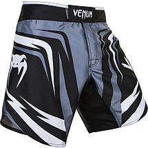 Шорты Venum Sharp 2.0 Fightshorts Black Grey, фото 2