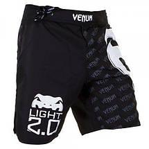 Шорты Venum Light 2.0 Fightshorts - Black, фото 3