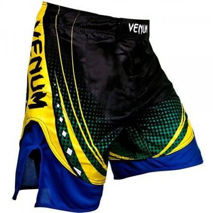 Шорты Venum Lyoto Machida UFC Edition Electron 3.0 Fightshorts- Black, фото 2
