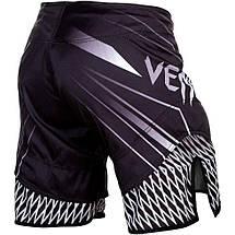 Шорты Venum Shockwave 4.0 Fightshorts Black Grey, фото 3
