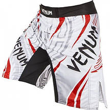 Шорты для MMA Venum Lyoto Machida Ryujin Ice Red, фото 2