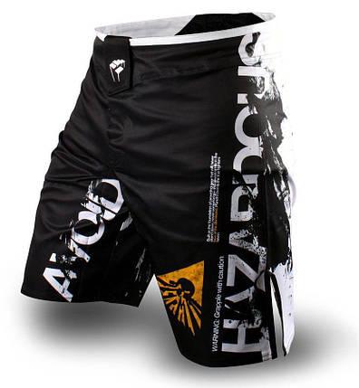 Шорты для ММА PunchTown Frakas Apocalypse Shorts Black, фото 2
