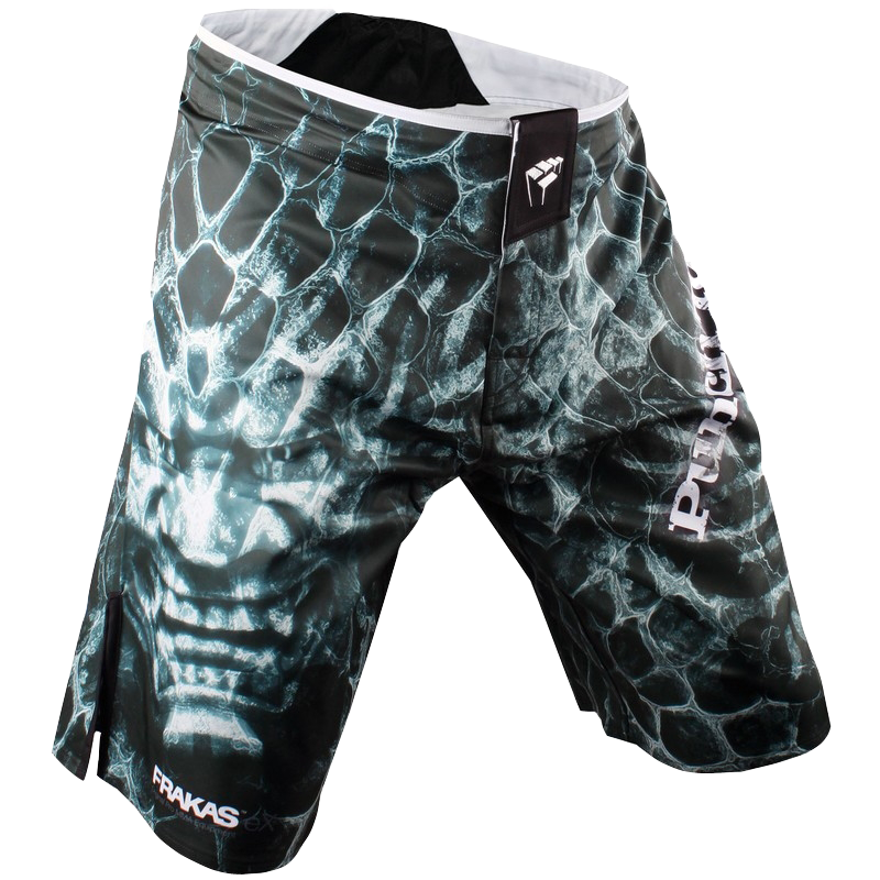 Шорты ММА PunchTown Frakas Ryushin Shorts Black