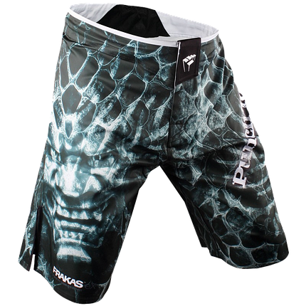 Шорты ММА PunchTown Frakas Ryushin Shorts Black, фото 2