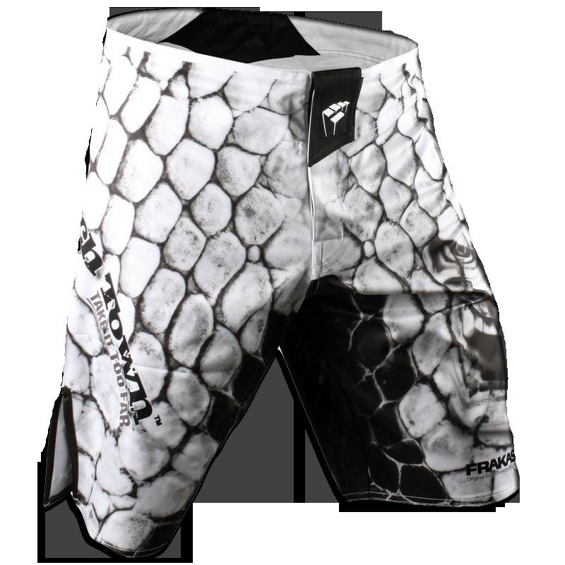 Шорты ММА PunchTown Frakas Ryushin Shorts White