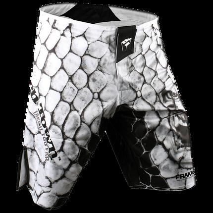 Шорты ММА PunchTown Frakas Ryushin Shorts White, фото 2