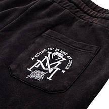 Шорты Venum Hard Hitters Cotton Shorts Black, фото 3