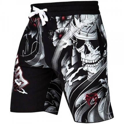 Шорты Venum Samurai Skull Training Shorts Black, фото 2