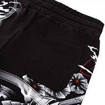 Шорты Venum Samurai Skull Training Shorts Black, фото 3